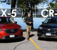 Honda CR-V và Mazda CX-5 : Cuộc đua song mã phân khúc crossover