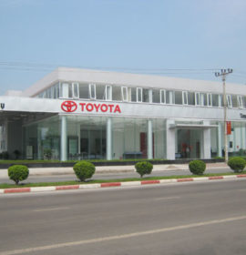 Đại lý Toyota Thái Nguyên