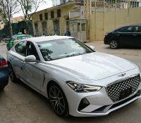 Genesis G70: Đối thủ Mercedes C-Class xuất hiện tại Việt Nam
