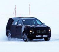 Lộ hình ảnh của Hyundai Santa Fe bản nâng cấp