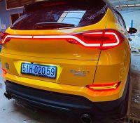 Cận cảnh Hyundai Tucson độ đèn hậu LED cực chất
