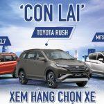 Dưới 700 triệu: Chọn Suzuki XL7, Toyota Rush hay Mitsubishi Xpander?