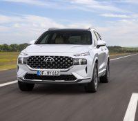 Hyundai SantaFe 2021 lộ diện: Lột xác ngoại hình, nội thất học hỏi Palisade, sức ép lớn cho Mazda CX-8