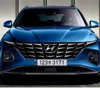 Hyundai Tucson 2021 lộ ảnh nội thất sử dụng màn hình to như xe tương lai