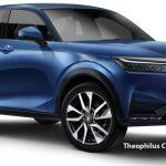 Xem trước Honda HR-V hoàn toàn mới: Lột xác để đấu Hyundai Kona